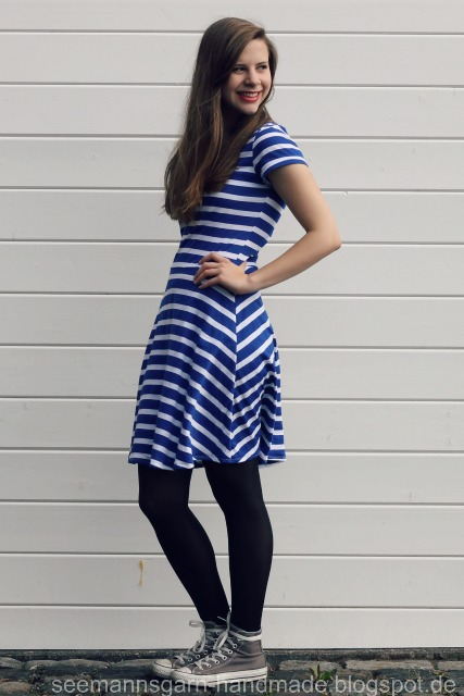 Skater Dress • Streifenhörnchen {RUMS #2}