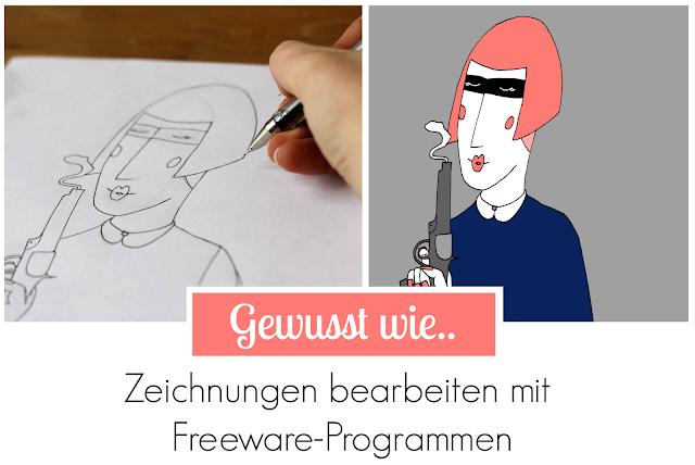 Zeichnungen bearbeiten mit Freeware-Programmen