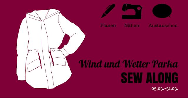 Wind und Wetter Parka • Sew Along • Gewinnspiel