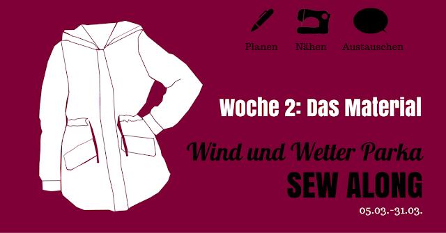 WWP Sew Along • Woche 2 • Das Material