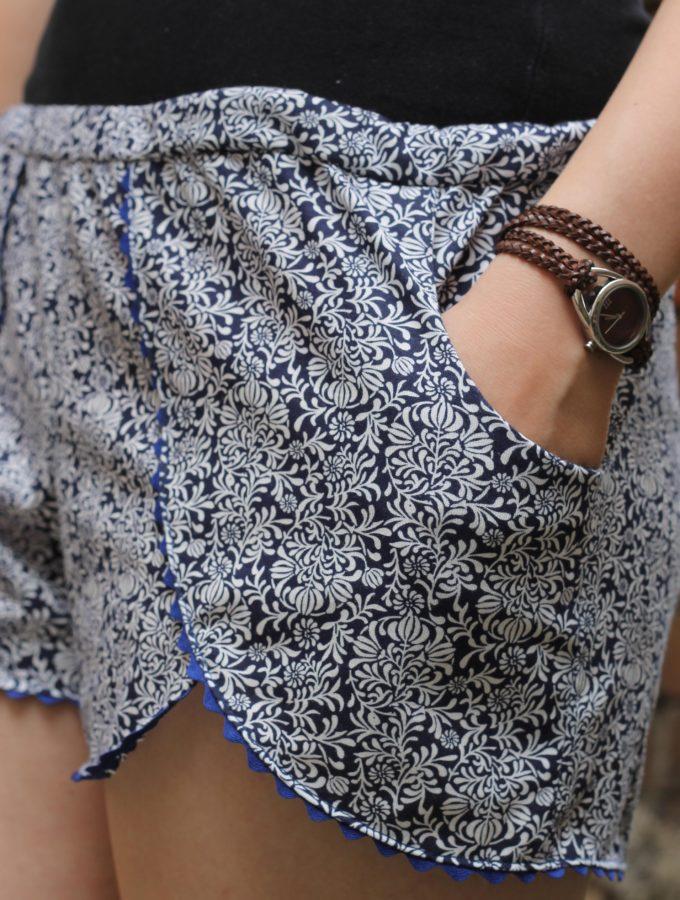 Pattern Hack • Coachella Shorts mit Taschen