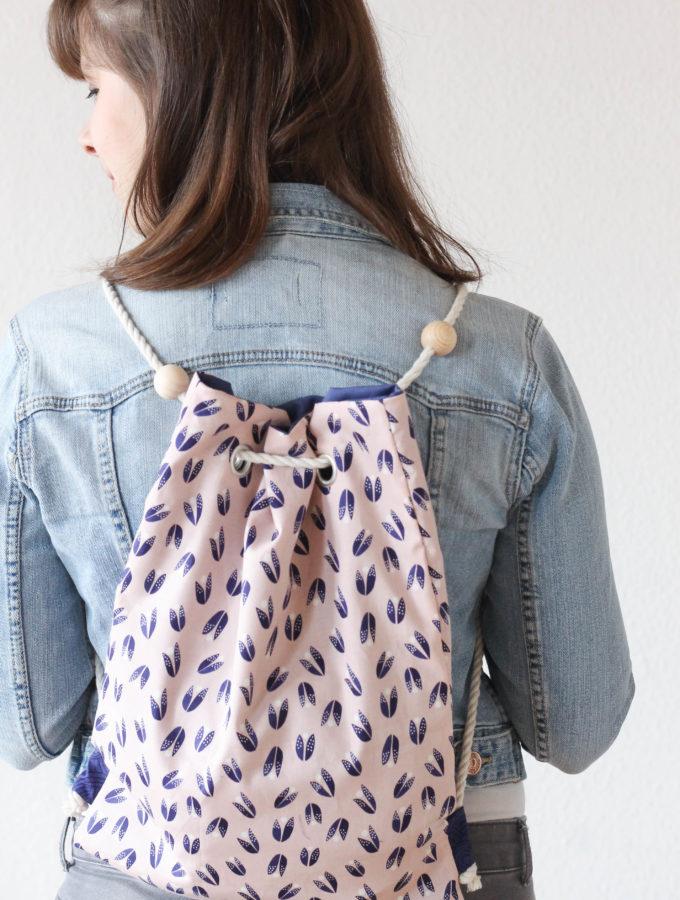 DIY-Tutorial • Rucksack oder Tasche? Beides!