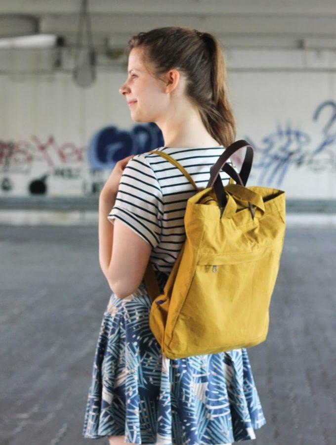 Eine Tasche, die alles kann • Totebag und Rucksack