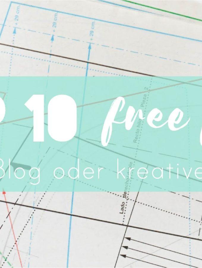 Meine Top 10 Free Fonts für jedes Projekt