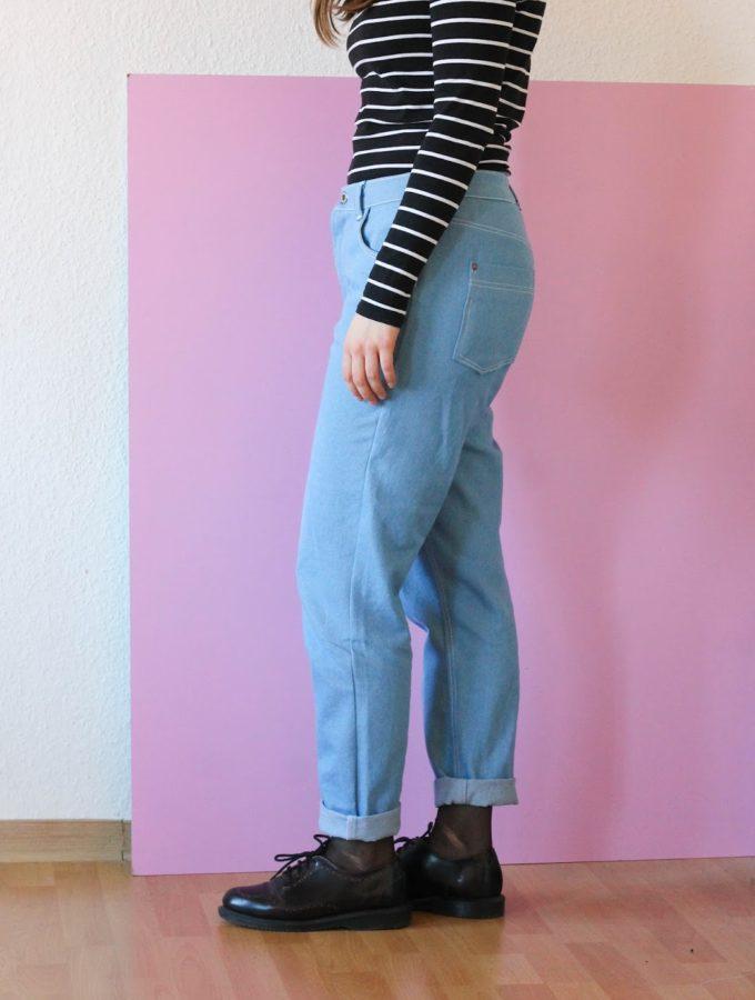 Vintage Mom-Jeans • Jeanshosen selber nähen