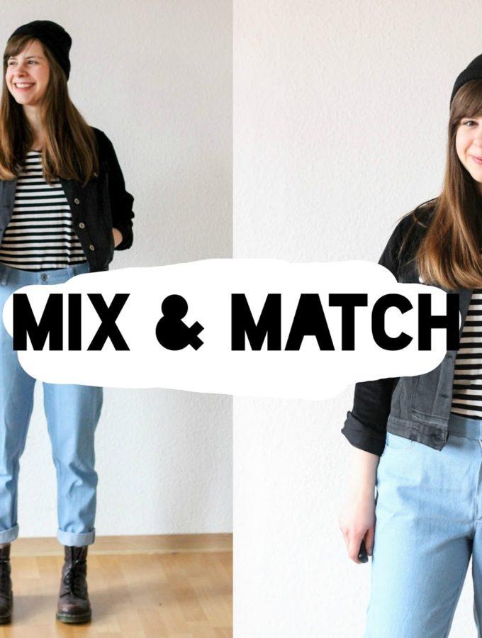 Mix & Match #3 • Schwarz, weiß, blau