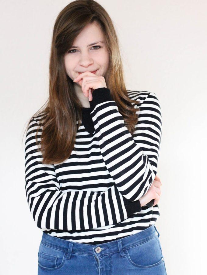 Hello Sloane Sweatshirt • Endlich wieder nähen