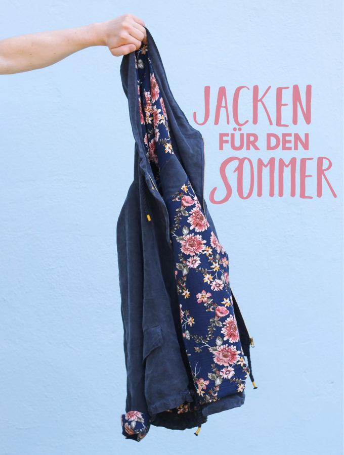 Sonntagsschnack #70 • Jacken für den Sommer