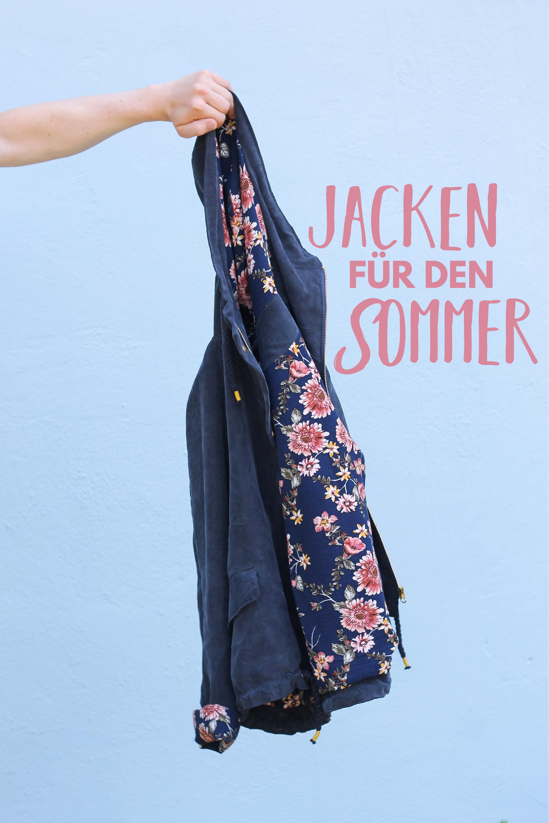 Jacken für den Sommer