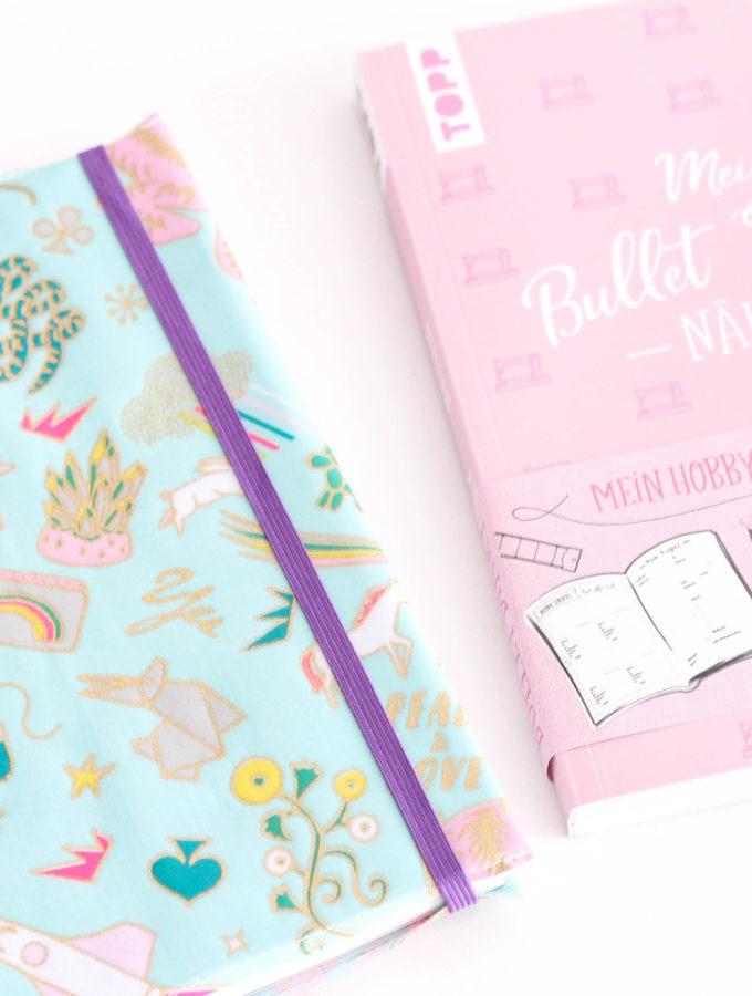 Bullet Diary • Buchhülle nähen
