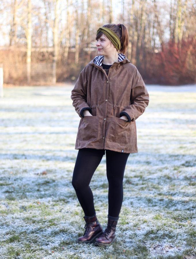 Waver Jacket • und Tipps zum Nähen mit Oilskin