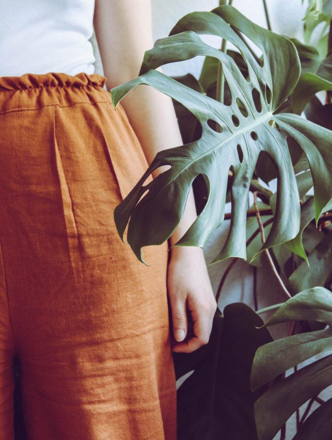 Zero Waste-Schnittmuster für eine Hose selbst erstellen • Geht das?
