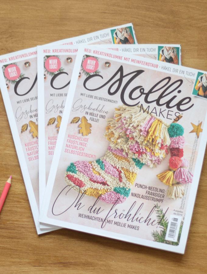 Sonntagsschnack #129 • Neue Mollie Makes + Gewinnspiel